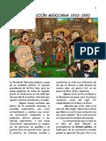 La Revolución Mexicana, 1910-1920.