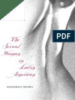 50634764 the Sexual Woman in Latin American Literature
