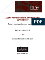Direct Vision Insurance Agent Appointment.