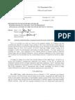 Bush DOJ Memorandum