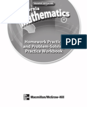 Math WorkbookMath Grade 4 Homework Practice Book   Fraction
