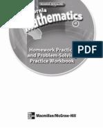 Math WorkbookMath Grade 4 Homework Practice Book