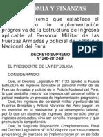 Decreto Supremo 246-2012-1