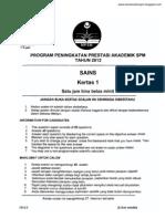 Science Kedah 2012