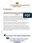 2013 International Women's Day - GREAT Trust, Council for Afrika International & Afrika Liberation Society Joint Solidarity Message