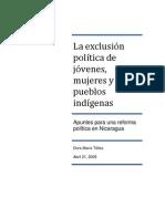 Exclusión política, 2009