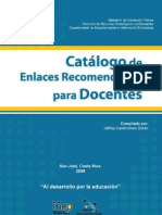 Catálogo de Enlaces Recomendados para Docentes--