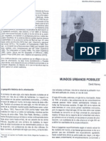 Mundos Urbanos Posibles 1 David Harvey
