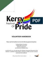 Volunteer Handbook Kerry LGBT Festival of Pride
