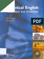 Technical English Vocabulary and Grammar