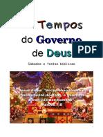 Os Tempos do Governo de Deus