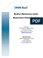 Sulfur Recovery Unit Expansion Case Studies