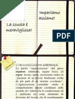 L'Organizzazione e Il Sistema Informazionale
