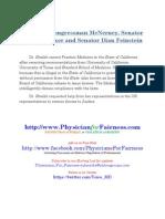 Access to Justice- Appeal to Congressman McNerney Senator Feinstein & Senator Boxer