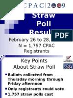 CPAC Straw Poll