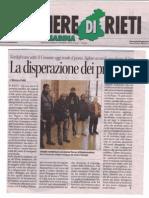 Corriere Di Rieti_Te Sa_La Disperazione Dei Profughi
