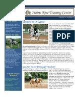 PRTC Newsletter March 2013