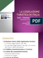 Lezione 11 - La Legislazione Turistica in Italia