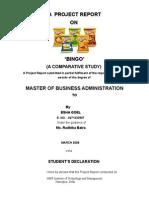 bingo- projct report