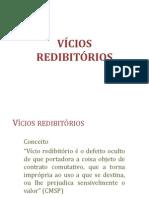 CONTRATOS - vicios redibitorios