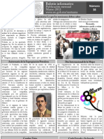 Boletín Mensual Marzo 2013