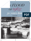 50 years later - the flood (March 2013)