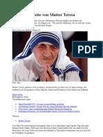 Die Dunkle Seite Von Mutter Teresa