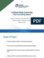 EM Consultant Final Report - PSU