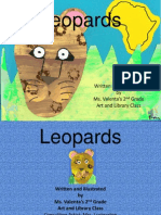 Leopard by Ms. Valenta's