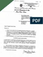 Autorizzazione MIUR Sottosegretario Rossi Doria