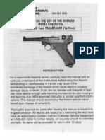 Century German p08 Luger Pistol