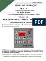 Relé Pextron PCPT4 proteção termica