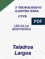 Taladros Largos X