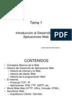 Tema 1 Introduccion Al Desarrollo Web