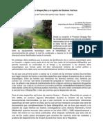 El Proyecto Qhapaq Ñan y el registro del Sistema Vial Inca - Lic. Alfredo Bar