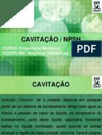 Cavitação - NPSH