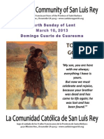 Mission San Luis Rey Parish, 3-10-2013