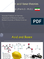 Acid - Base Theory