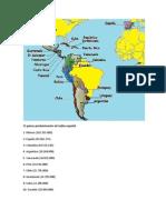 15 paises predominantes de habla español