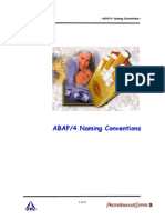 ITC ABAP Naming Conventions