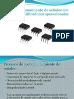 Acondicionamiento de señales con amplificadores operacionales