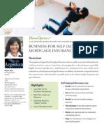 Business For Self  Mortgage Insurance Program