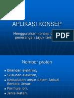 Aplikasi Konsep Dalam Kimia