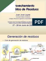 Trabajo de aprovechamiento de gases de ólidos