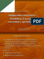 Adaptaciones Curriculares Presentacion Inicial 2012