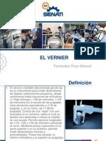 Diapositivas de Vernier