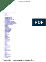 Tutoriel JPA _ votre première application JPA