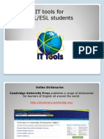 Presentación IT tools for Students