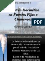 Muestreo Isocinético en Fuentes Fijas (PPT Herman Lehrer)