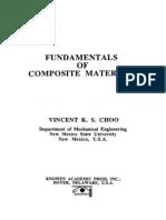 1559.Fundamentals of Composite Materials by Vincent K. Choo